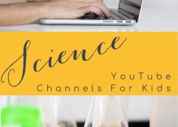 Science YouTube Channels for kids to use for homeschooling or to have fun learning about science.