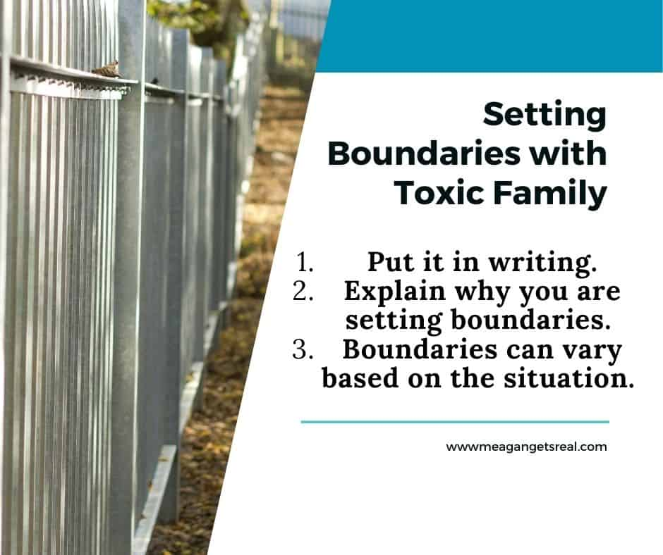 Setting Boundaries with Toxic Family