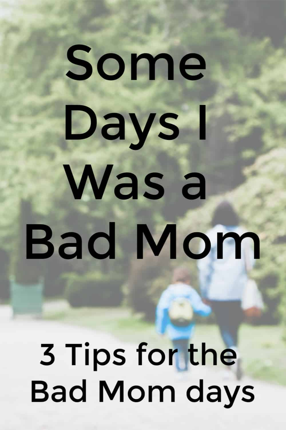 3 Things I've learned about bad mom days. Support for moms doesn't have to be hard to find with this comprehensive guide filled with parenting resources for moms you won't want to miss.