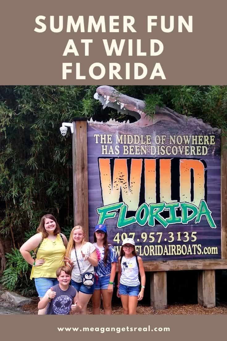Summer Fun at Wild Florida - Tips for enjoying the wild florida park with teens in the summer