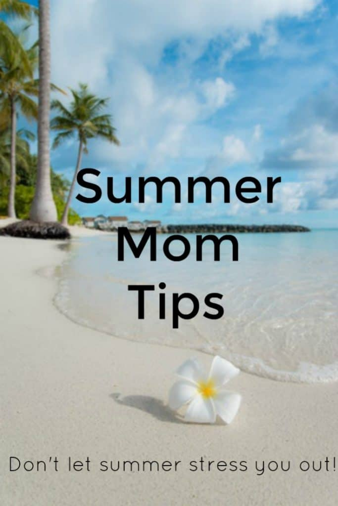 Summer is here and with it comes all of the pressure and stress of adjusting to a new normal. While it can be easy to let all of the stress consume you, it doesn't have to. This year I am trying a new approach to summer in hopes of spending less time stressed out. I want to share some summer mom tips with you. Make sure to check out some of the tips and ideas I have to help you thrive this summer.